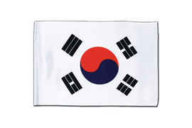 South Korea - Satin Flag 6x9""