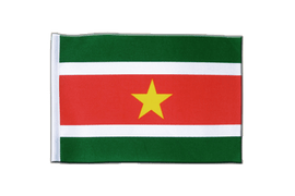 Suriname - Satin Flag 6x9""