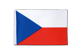 Czech Republic - Satin Flag 6x9""