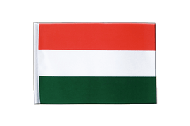 Hungary - Satin Flag 6x9""