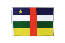 Central African Republic - Satin Flag 6x9""