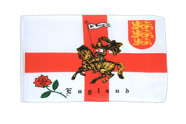 England with knight - 12x18 in Flag
