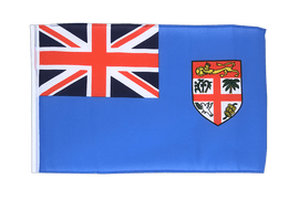 Small Flag Fiji - 12x18""