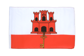 Small Gibraltar Flag - 12x18""