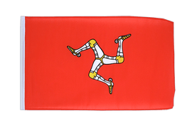 Isle of man - 12x18 in Flag