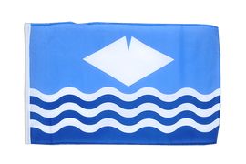 Petit drapeau Isle-of-Wight - 30 x 45 cm