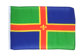 Lincolnshire - 12x18 in Flag