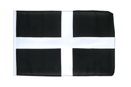 Small St. Piran Cornwall Flag - 12x18""