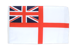 Naval Ensign of the White Squadron - 12x18 in Flag