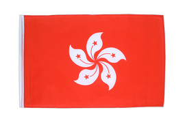 Hong Kong - 12x18 in Flag