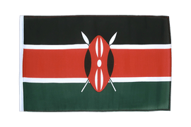 Small Flag Kenya - 12x18""