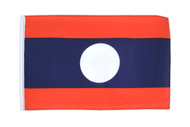 Laos - 12x18 in Flag