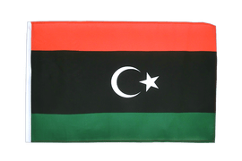 Kingdom of Libya 1951-1969 Opposition Flag Anti-Gaddafi Forces - 12x18 in Flag