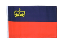 Liechtenstein - 12x18 in Flag