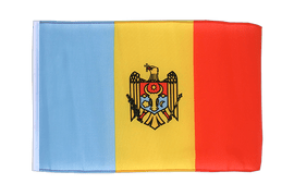Moldova - 12x18 in Flag