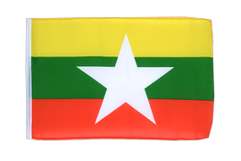 Myanmar new - 12x18 in Flag