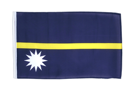 Nauru - 12x18 in Flag