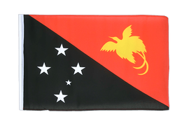 Small Flag Papua New Guinea - 12x18""
