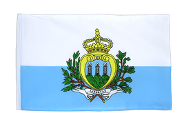 San Marino - 12x18 in Flag