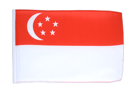 Singapore - 12x18 in Flag