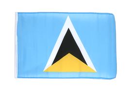 Saint Lucia - 12x18 in Flag