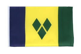 Saint Vincent and the Grenadines - 12x18 in Flag