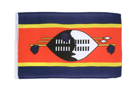 Swaziland - 12x18 in Flag
