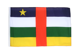 Central African Republic - 12x18 in Flag