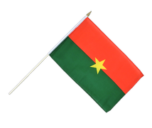 Burkina Faso - Hand Waving Flag 12x18""