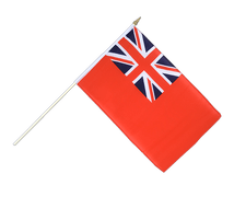 Red Ensign - Hand Waving Flag 12x18""