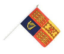 Drapeau sur hampe Royal - 30 x 45 cm