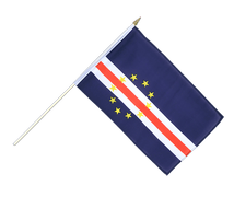 Cape Verde - Hand Waving Flag 12x18""