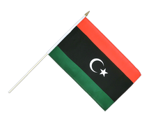 Kingdom of Libya 1951-1969 Opposition Flag Anti-Gaddafi Forces - Hand Waving Flag 12x18""