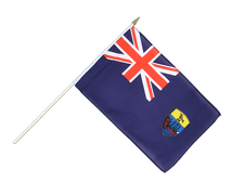 Saint Helena - Hand Waving Flag 12x18""
