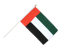 United Arab Emirates - Hand Waving Flag 12x18""