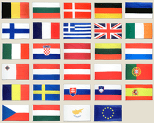 European Union - 2x3 ft Flag Pack