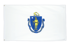 Massachusetts - 2x3 ft Flag