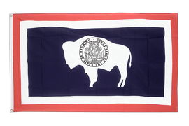Wyoming - 2x3 ft Flag