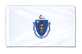 Massachusetts - 12x18 in Flag
