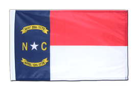 North Carolina - Flagge 30 x 45 cm