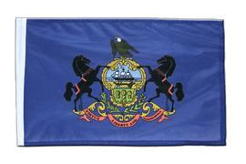 Pennsylvania - 12x18 in Flag