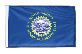 South Dakota - Flagge 30 x 45 cm