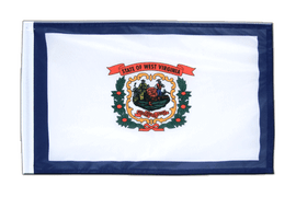 Petit drapeau West Virginia - 30 x 45 cm