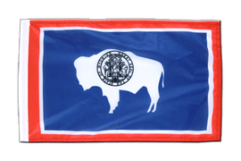 Wyoming - 12x18 in Flag