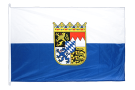 Germany Bavaria with crest Flag - 100 x 150 cm