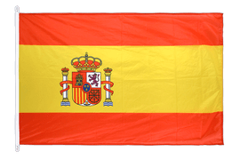 Spain with crest - Flag PRO 100 x 150 cm