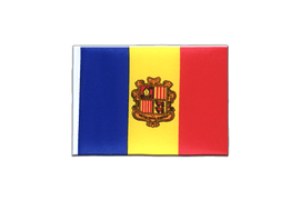 Andorra - Mini Flag 4x6""