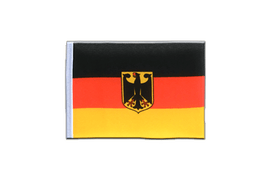 Germany Dienstflagge - Mini Flag 4x6""
