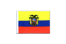 Ecuador - Mini Flag 4x6""