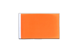 Fanion rectangulaire Orange - 10 x 15 cm